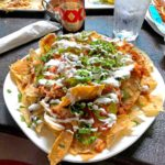 "Pulled Chicken Nachos Tortilla Republic ""The Upstairs"""