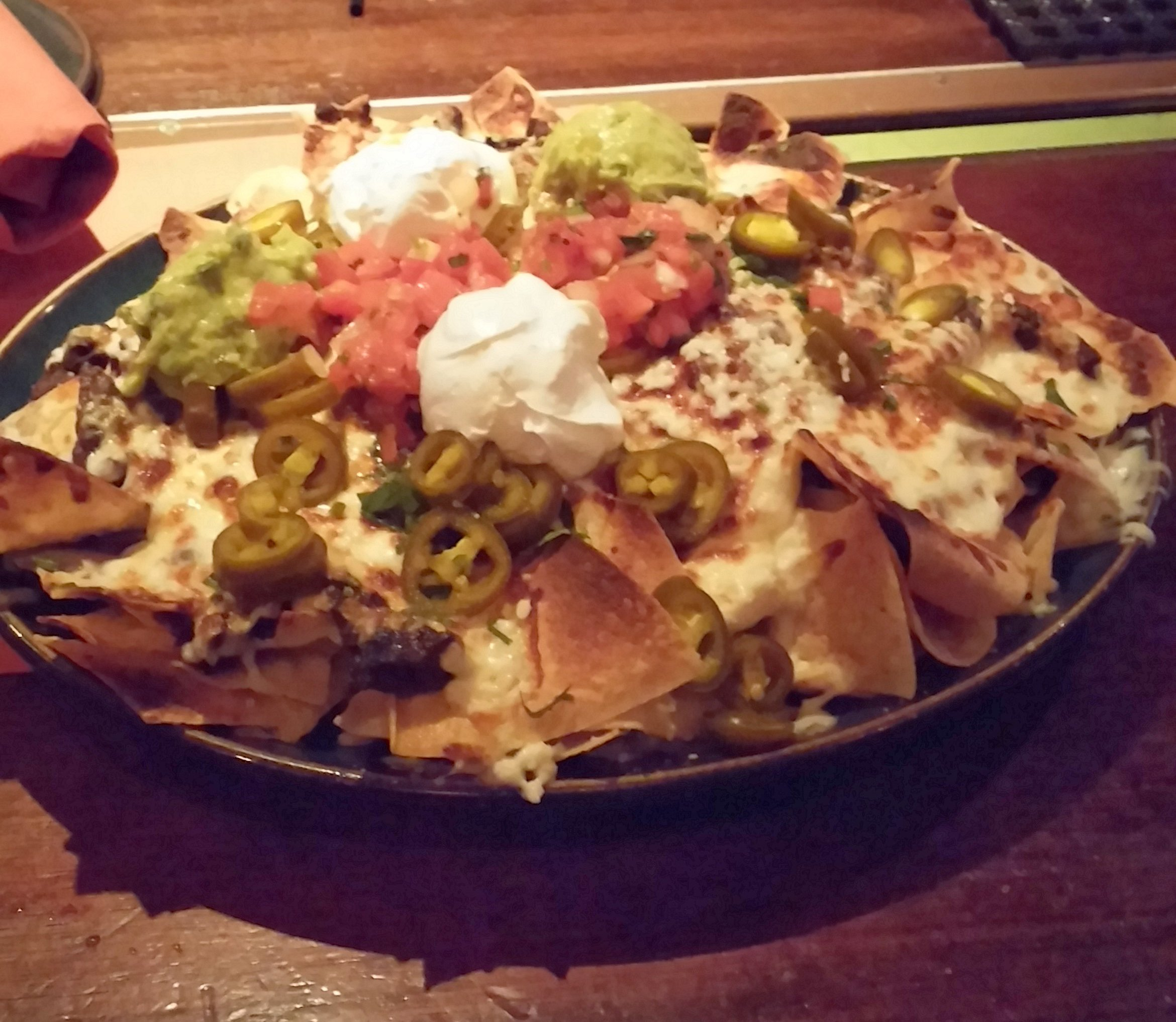 Steak Nachos, Raco's Tacos