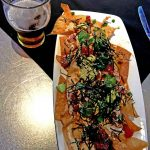 Tuna Poke Nachos at Yardhouse, Orlando