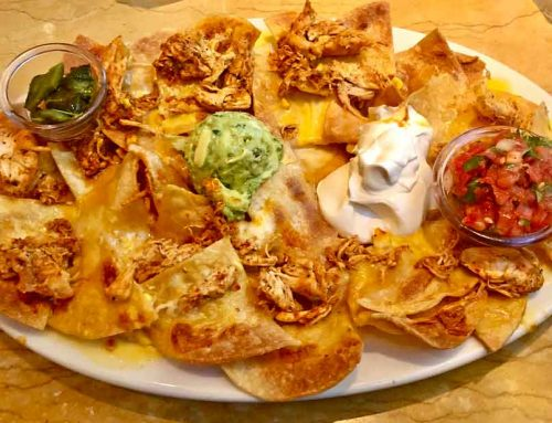 Factory Chicken Nachos at Cheesecake Factory