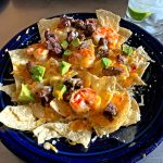 Steak and Shrimp Nachos